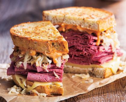 2-Step Classic Reuben Sandwich