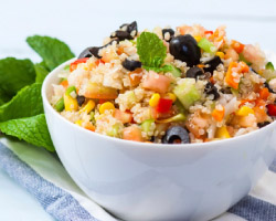 Vegetable Quinoa Salad