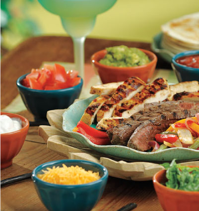 Chicken & Beef Fajita Bar