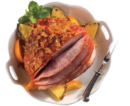 Fruit Glazed Ham