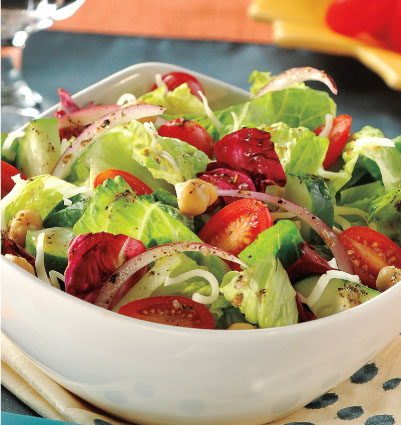 Healthy Italian Mixed Salad