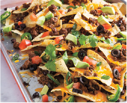 Sheet Tray Nachos
