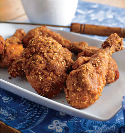 Southern-Style Sesame Fried Chicken