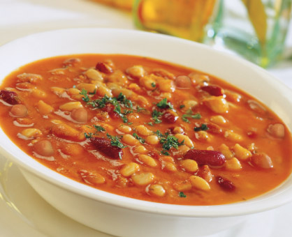 Tuscan Bean Soup with Bacon