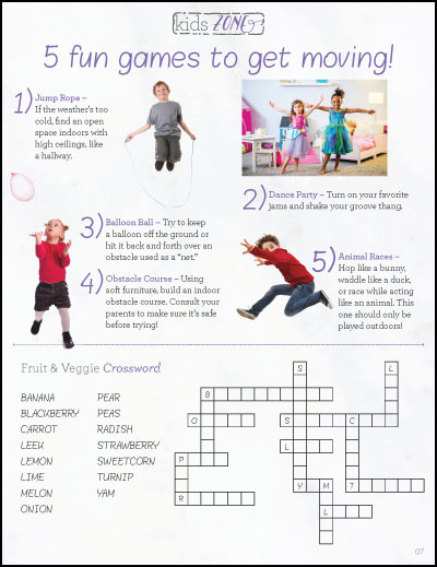 Kids Zone - 5 Fun Games to Get Moving
