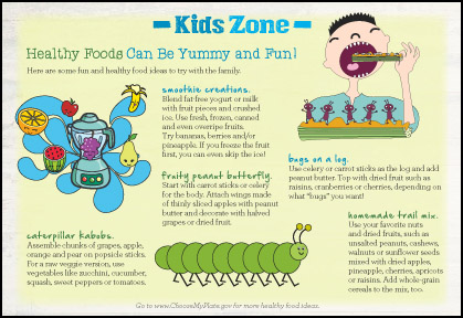 Kids Zone - Healthy Foods