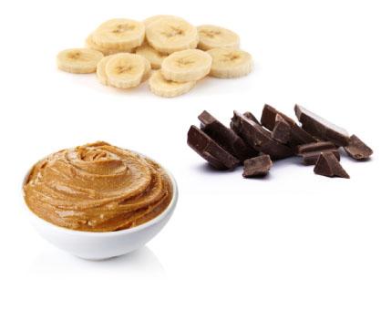 Banana + Dark Chocolate + Nut Butter