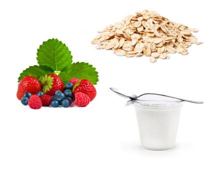 Oats + Mixed Berries + Yogurt