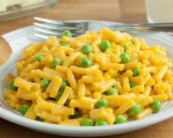 Mac & Cheese and Peas, Please