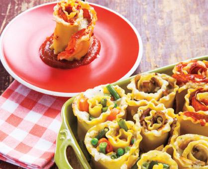 Lasagna Roll-Ups