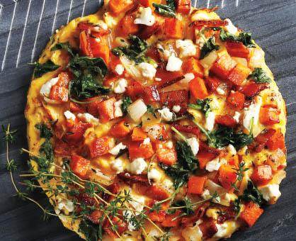 Open-Faced Veggie Omelet