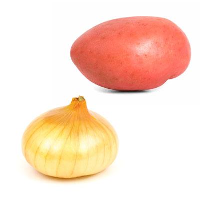 Roasted Onion & Red Potato Salad