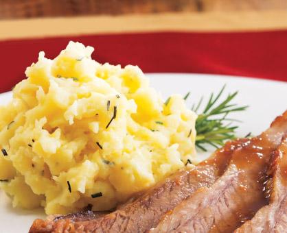 Rosemary-Roasted Garlic Mashed Potatoes