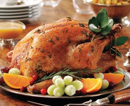 Turkey à la Orange