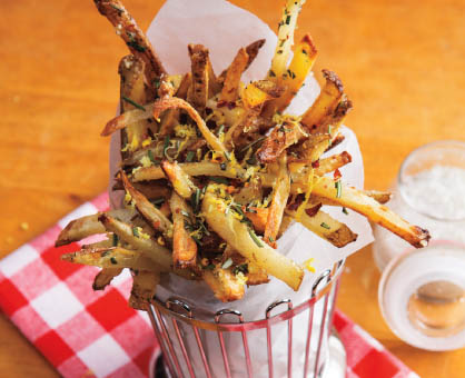 Zesty Cheese Fries